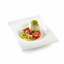 Caprese liquida con mozzarella, pomodoro e basilico
