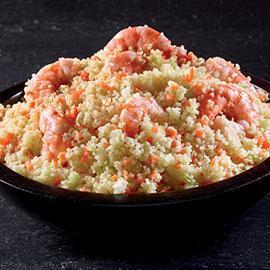 Cous Cous agli agrumi con gamberi