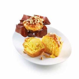 Mini muffin al formaggio e pinoli
