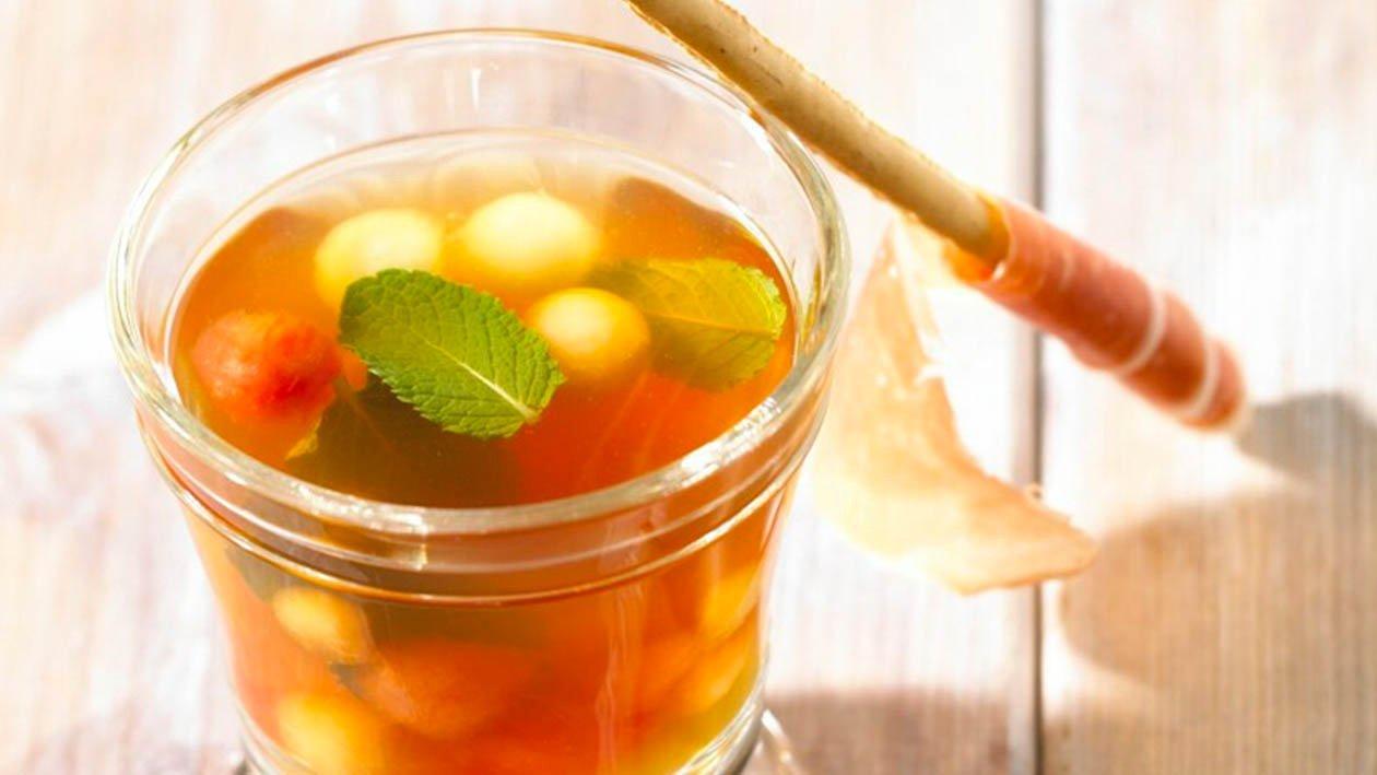 aspic di melone e prosciutto – Ricetta
