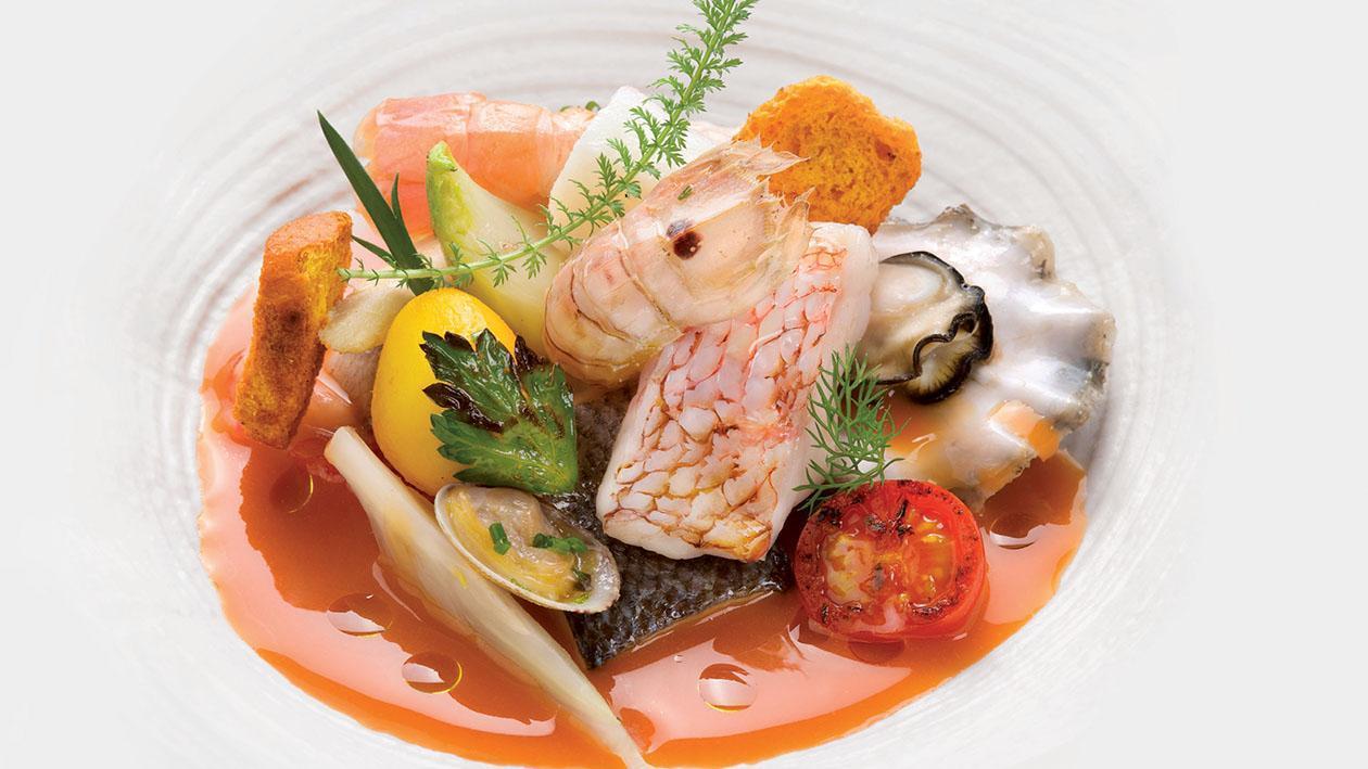 Brodetto di pesce allo zafferano con patate e finocchietti – Ricetta