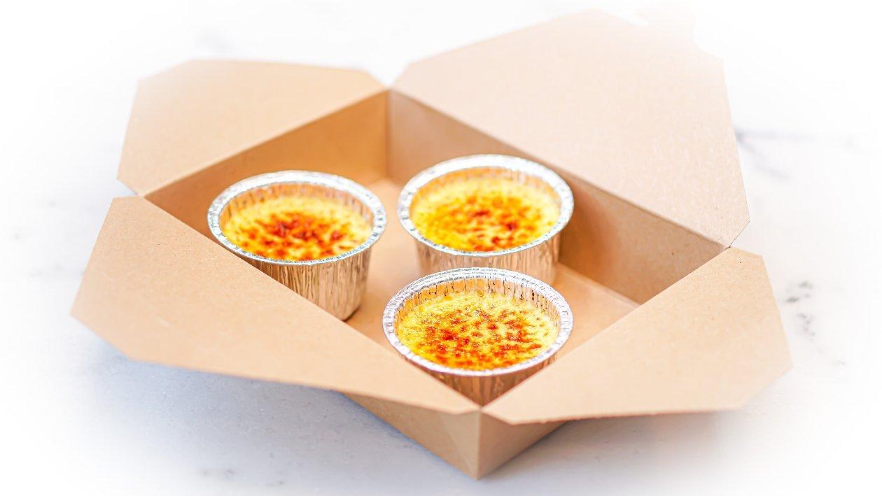 Crema catalana 2.0 take away – Ricetta