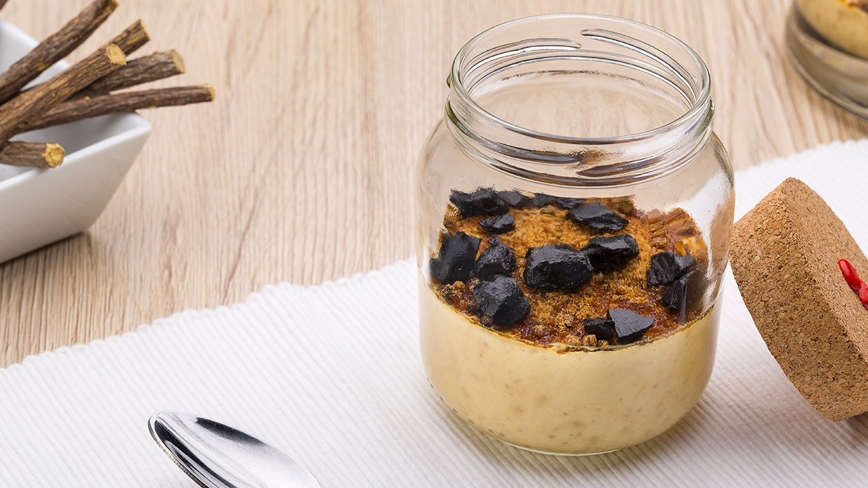 crema catalana alla liquirizia con zucchero integrale – Ricetta