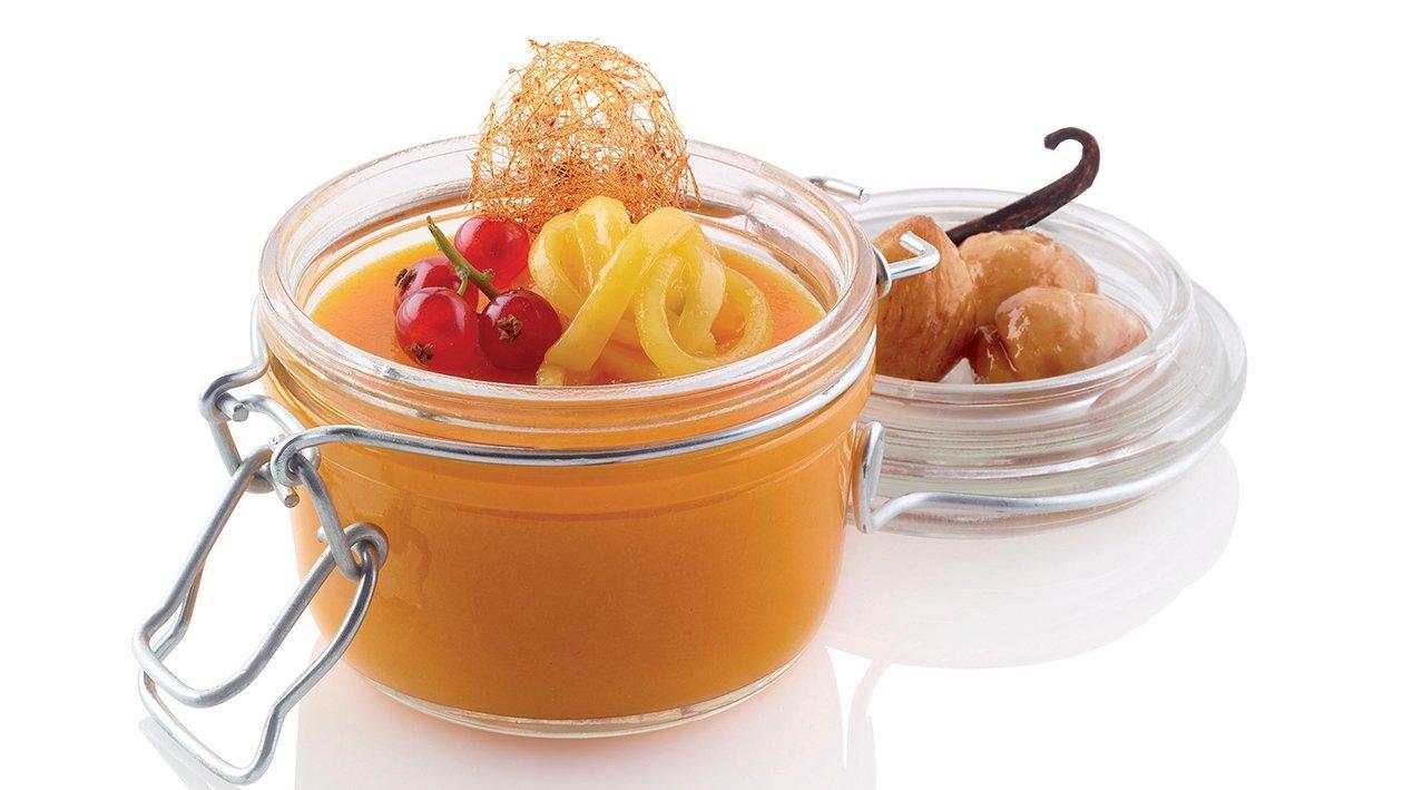 crème caramel mango, castagne e vaniglia – Ricetta