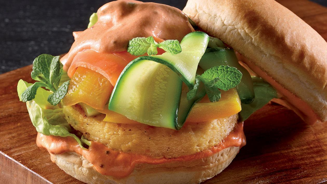 Falafel Burger – Ricetta