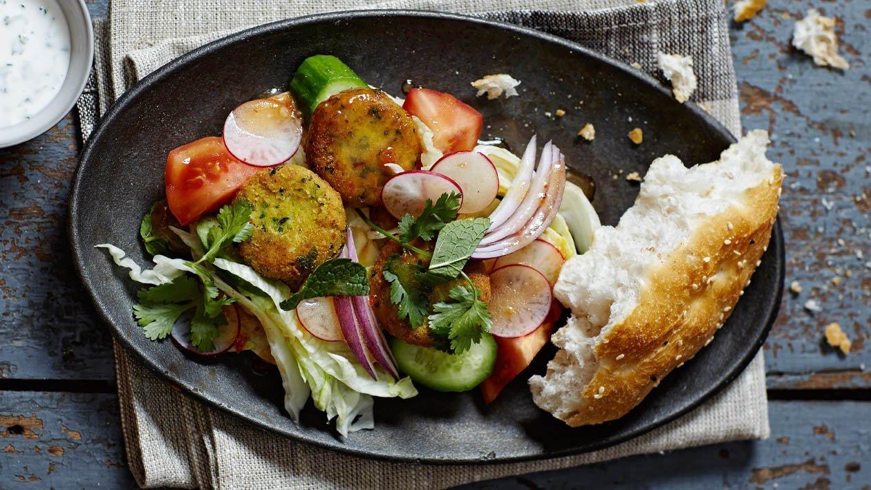 Falafel con coriandolo, menta e aglio – Ricetta
