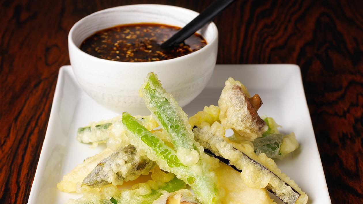 Filetto di sogliola e verdure in tempura – Ricetta