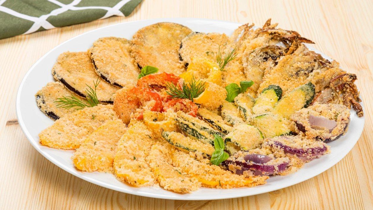 Gran piatto di verdure gratinate – Ricetta