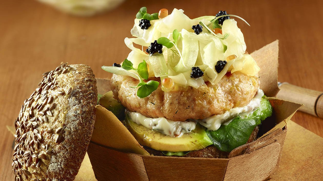 liberty island fish burger – Ricetta