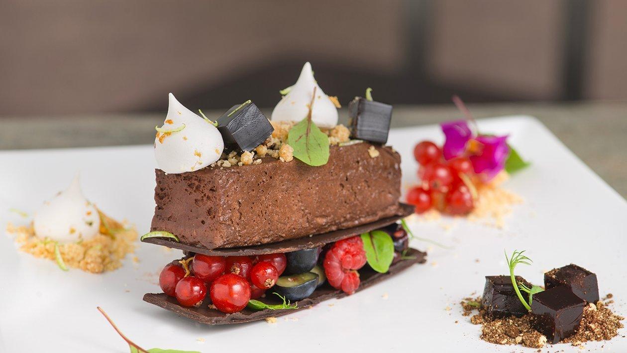 Lingotto di cioccolato rum agricolo con gelèe di caffè – Ricetta