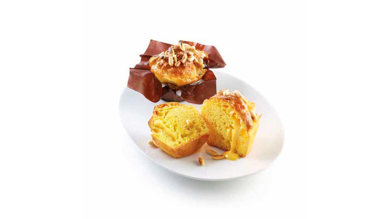 Mini muffin al formaggio e pinoli – Ricetta