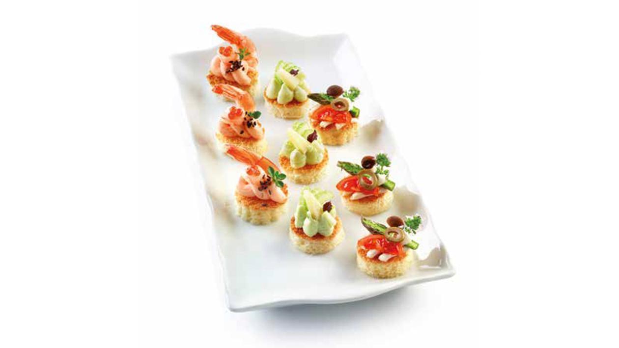 Mousse al salmone, sedano e prosciutto cotto – Ricetta