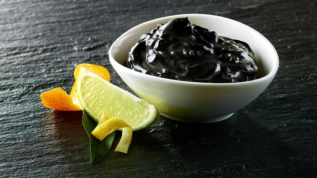 Salsa al nero di seppia agrumata – Ricetta