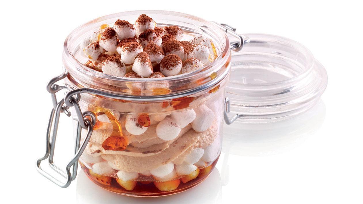 Semifreddo al torroncino e granella di meringa – Ricetta