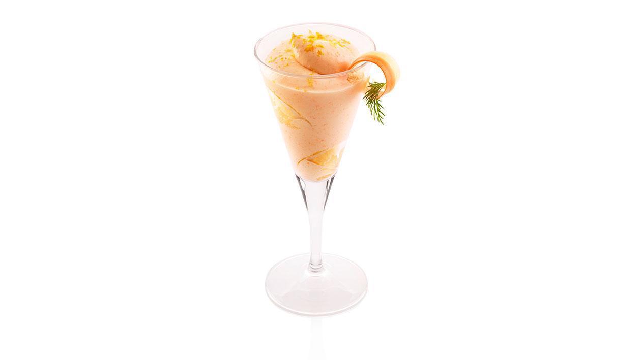 Sorbetto al limone, carote e zenzero – Ricetta