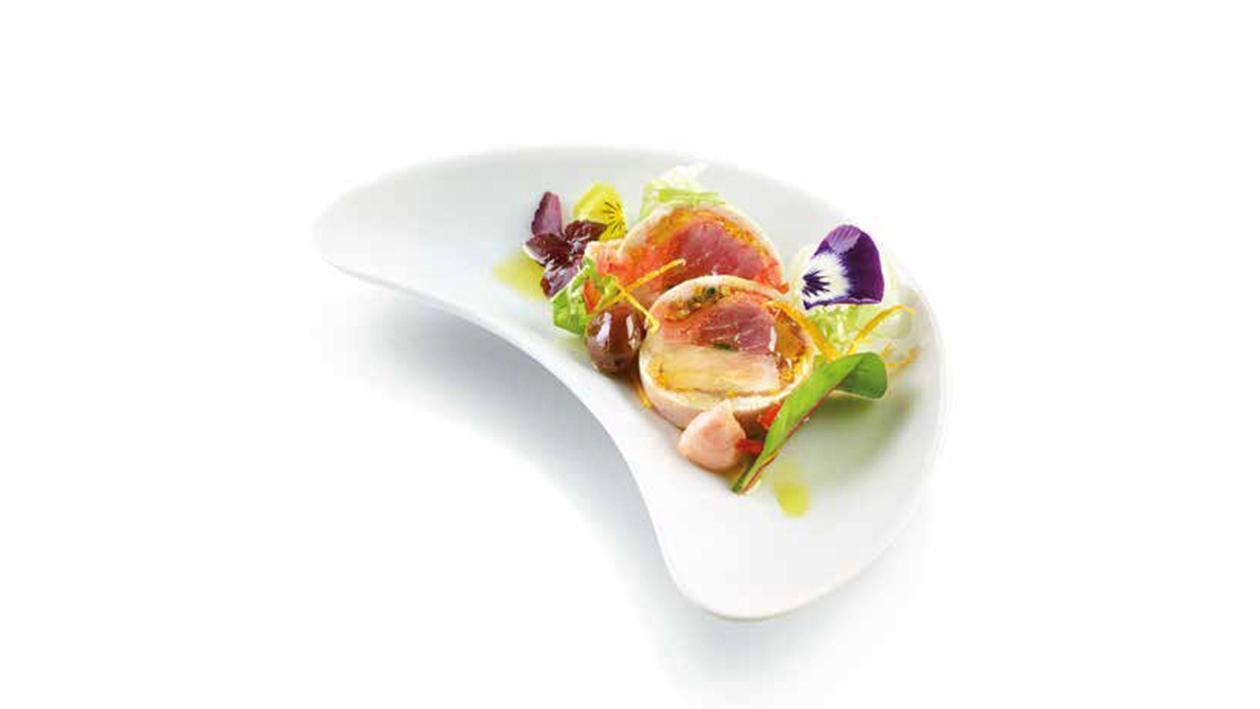 Terrina di salmone, tonno, spada, erba cipollina, agrumi – Ricetta