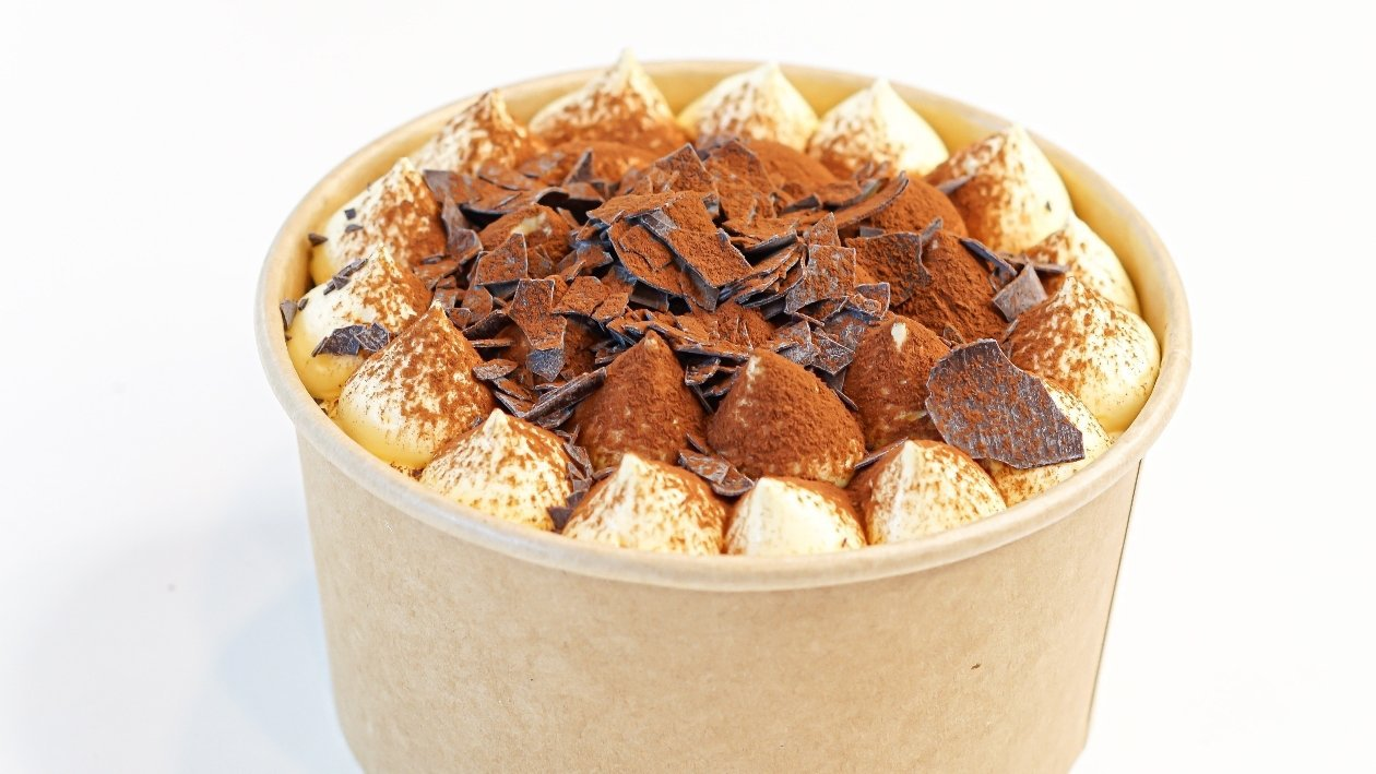 Tiramisù 2.0 con sfoglie di cioccolato take away – Ricetta