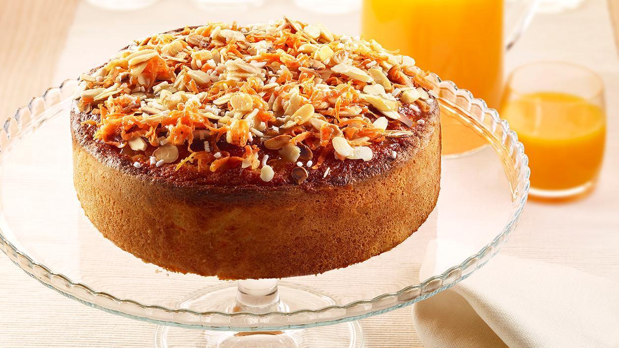 Torta camilla con mandorle e carote – Ricetta