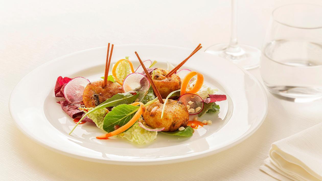 Trancio di merluzzo allo zenzero agrodolce e aneto con finocchi, pompelmo e sesamo  – Ricetta