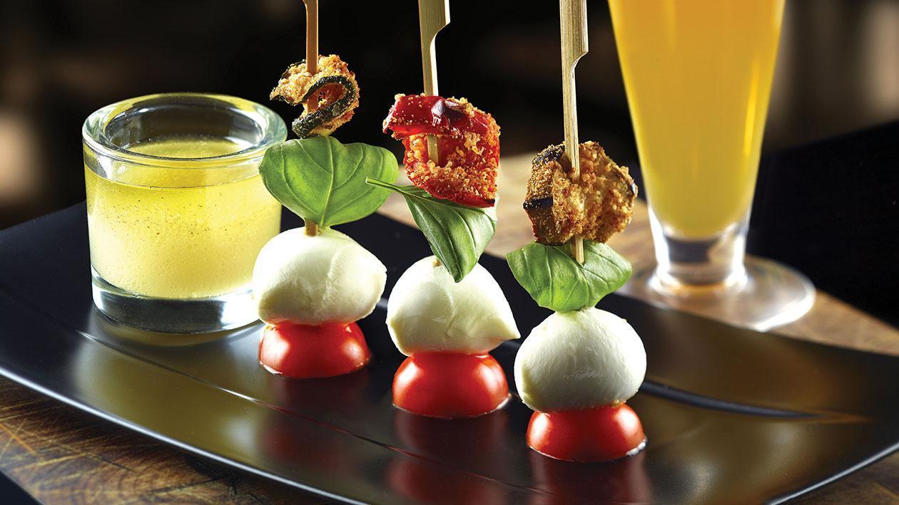 Tris di verdure gratinate – Ricetta