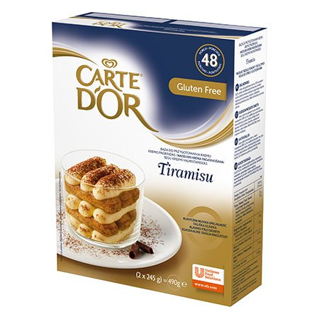 Carte d'Or Cream Tiramisu 2x245G -