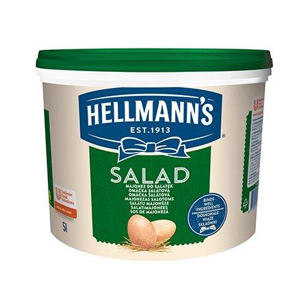Hellmann's Majonezas Salotoms 30% 5 L -