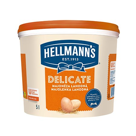 Hellmann's Mayonnise Delicate 4,8 kg -