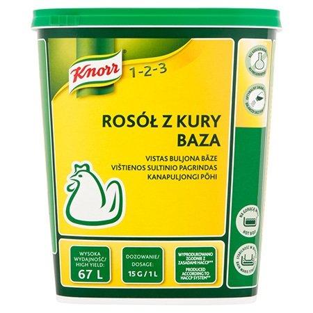 Knorr 1-2-3 Vištienos Sultinio pagrindas 1 kg -