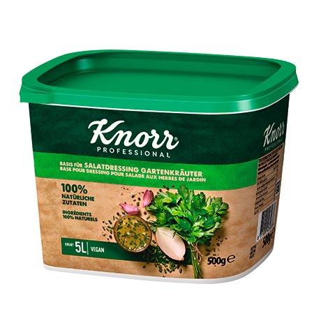 Knorr 100% Natural klasikinis salotų užpilas 500g -