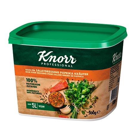 Knorr 100% Natural paprikinis salotų užpilas 500g -