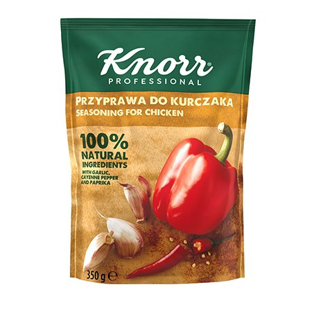 Knorr 100% Natural prieskoniai vištienai 350g -
