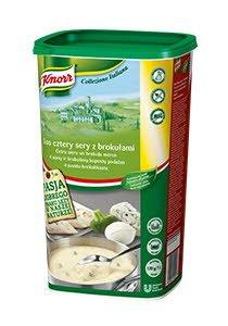 Knorr 4 Sūrių ir Brokolių Padažas 0,9 kg
