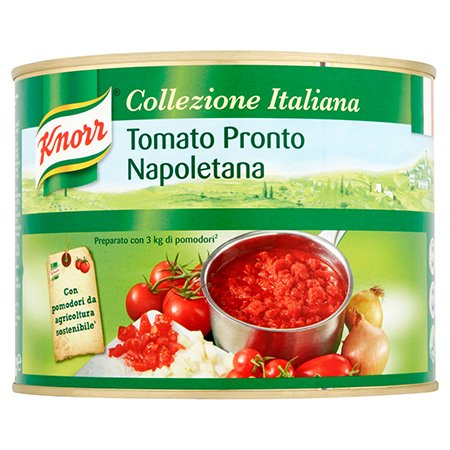Knorr Pomidorų padažo pagrindas su pomidorų gabaliukais 2 kg -