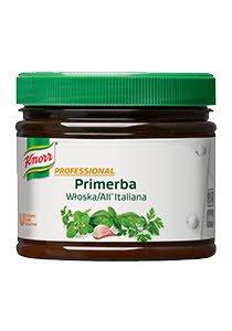 Knorr Primerba Prieskoninė Pasta su Itališkais žalumynais 340 g