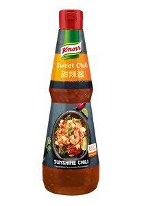 Knorr Sunshine Chili saldus, aštrus aitriųjų paprikų padažas 1 L