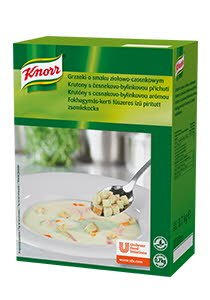 Knorr Žolelių ir česnakų skonio prancūziški skrebučiai 0,7 kg -