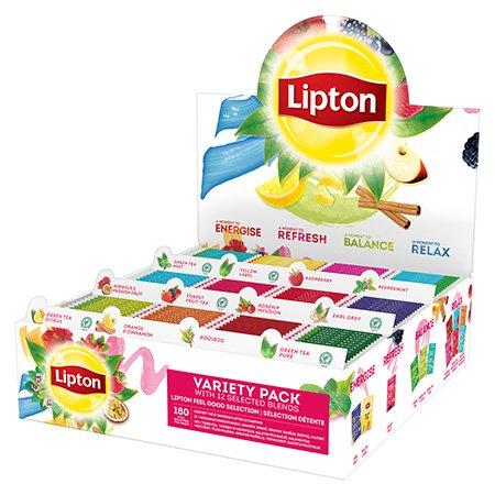 Lipton Arbatų Rinkinys 12 Rūšių -