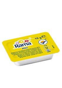 Rama Mažesnio riebumo margarinas 10 g