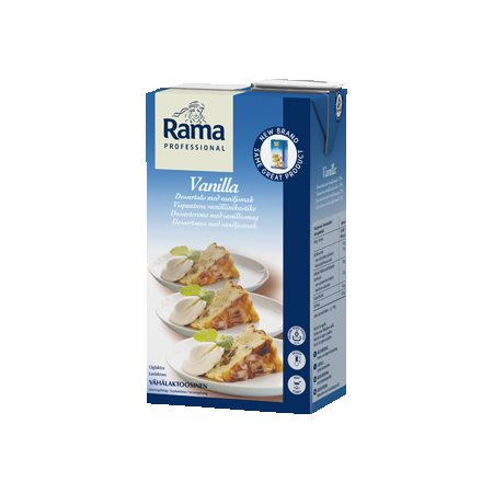 Rama Proffesional Vanilla Lw Lactose (12%) 1L x 8 (Parduodama tik Estijoje) -