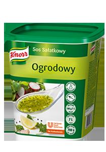 """Knorr """"Garden"""" Salotų Užpilas 0,7 kg - Mūsų ypatingai gaivus ir skanus salotų užpilas nesisluoksniuoja, todėl salotos atrodo puikiai"""