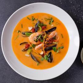 Aštri jūros gėrybių sriuba