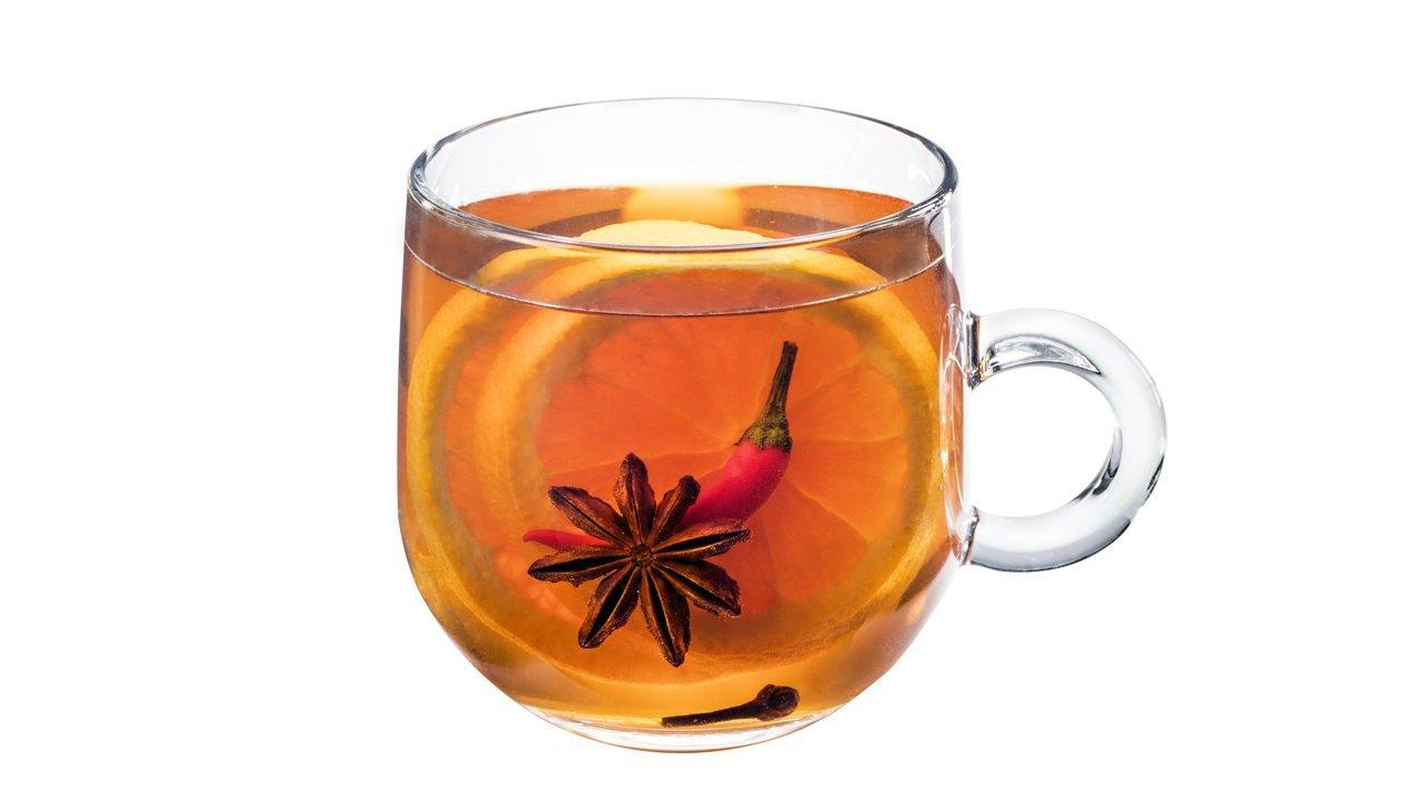 Apelsinų ir aitriųjų paprikų arbata – Receptas