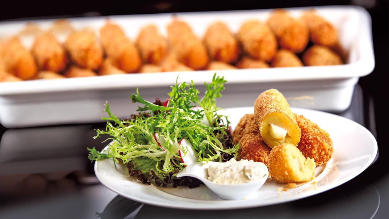 Bulvių kroketai su tartaro padažu – Receptas