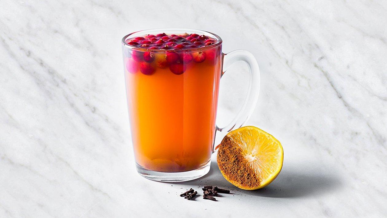 Karštas arbatos gėrimas – Receptas