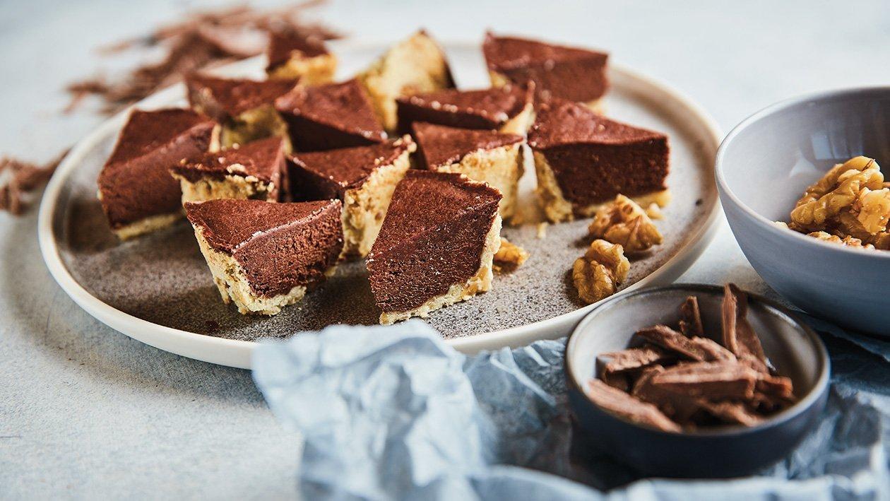 Šokolado ir riešutų tartas – Receptas