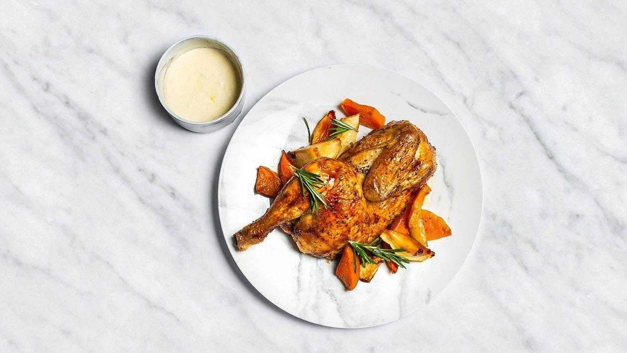 Viščiukas su daržovėmis – Receptas