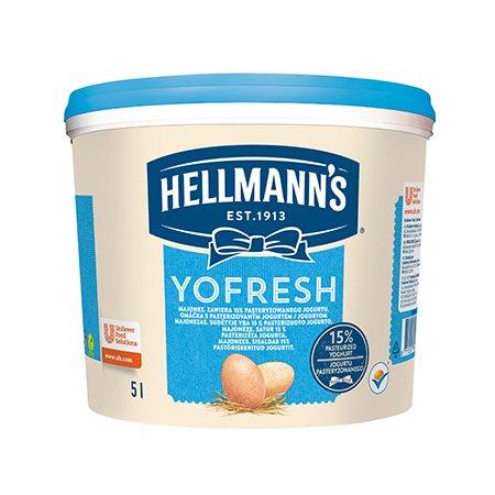 Hellmann's Yofresh Majonēze 5 L -