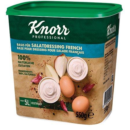 Knorr 100% Natural krēmīga salātu mērce 550g -