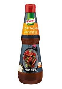 Knorr Pang Gang pikantā mērce ar čili un tomātiem 1 L