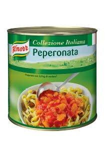 Knorr Peperonata Paprika Tomātu Mērcē 2,6 kg -
